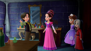 Looking Back Glass- SofiaTheFirst 1001 Animations by SofiaBlythe2014