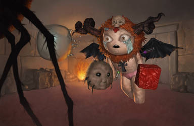 The binding of isaac fanart by Varbas