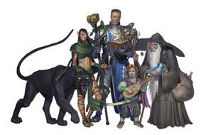 Heroes, Group characters by Varbas