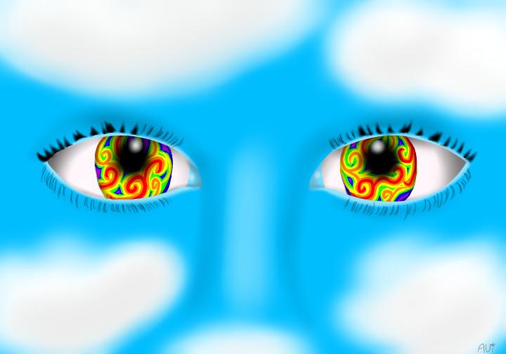 The Girl with Kaleidoscope Eyes by RMAfan101