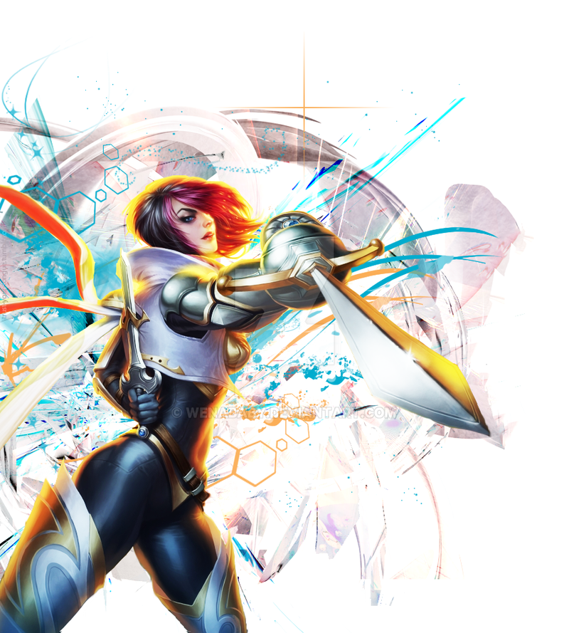 League of Legends - Fiora Edit by WenaBaby on DeviantArt