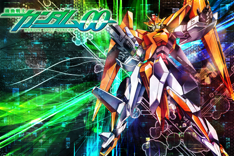 Gundam 00 wallpaper: Arios by *kaki-tori on deviantART