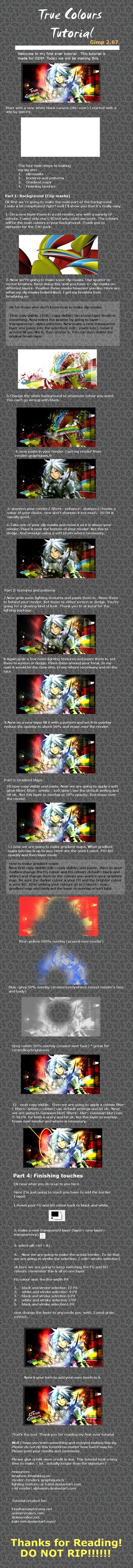 True colours tutorial by kaki-tori