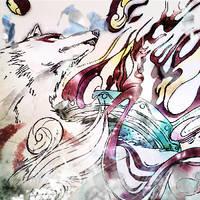 wolf by kaki-tori