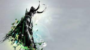 Loki's Silver Tongue Wallpaper by kaki-tori