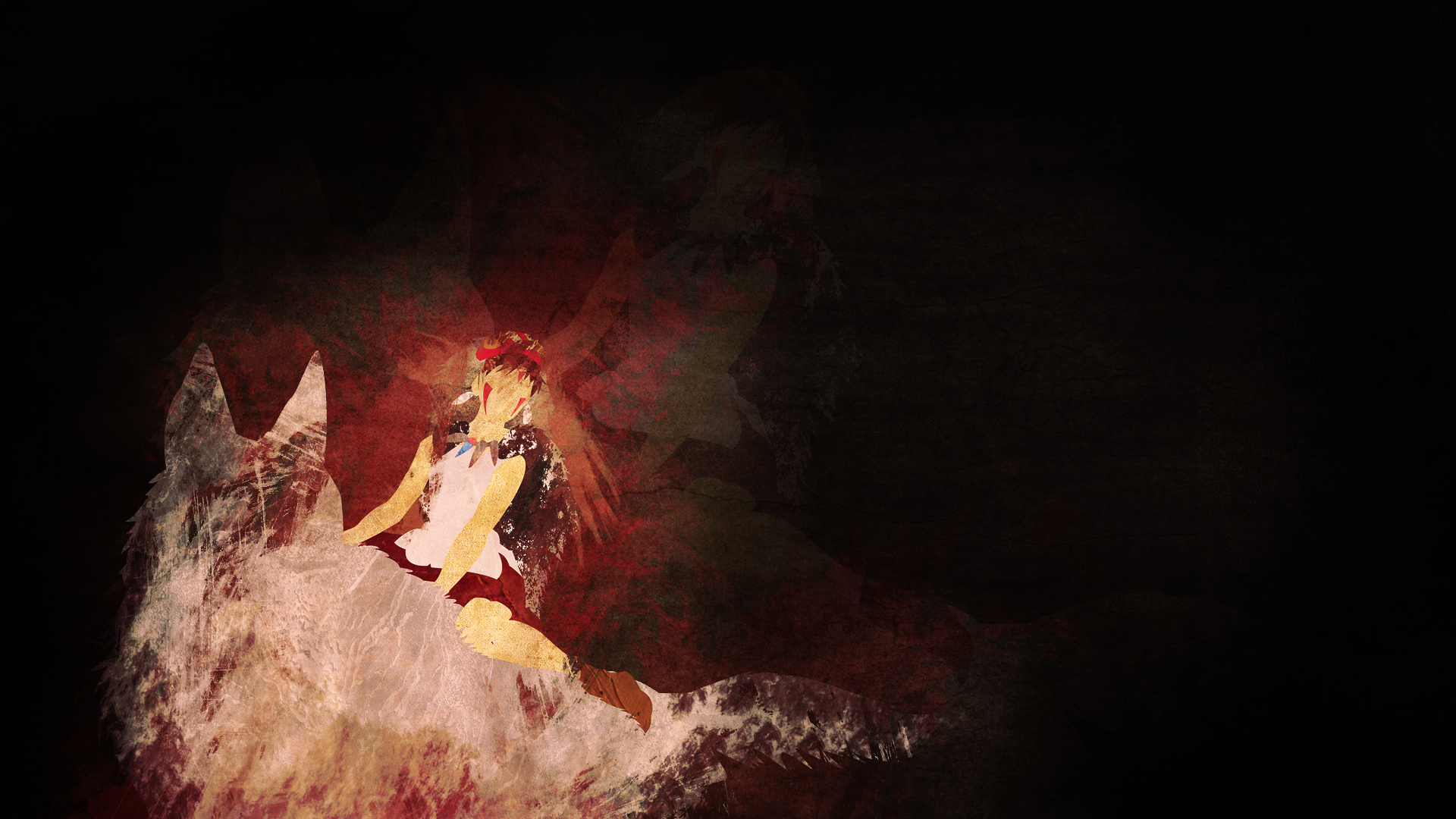 princess mononoke wallpaper art