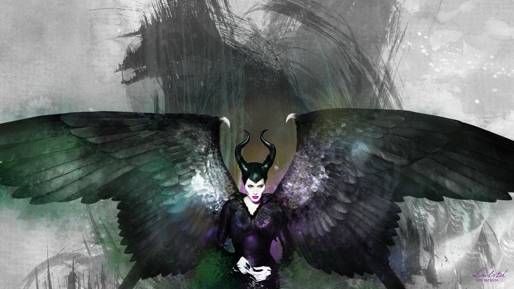 Maleficent Through the pages wallpaper by kakitori on DeviantArt
