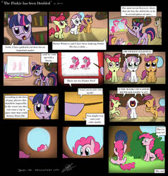 Comic - 'The Pinkie has been doubled' by Dori-to
