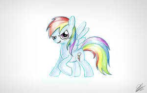 Rainbow Dash Scan