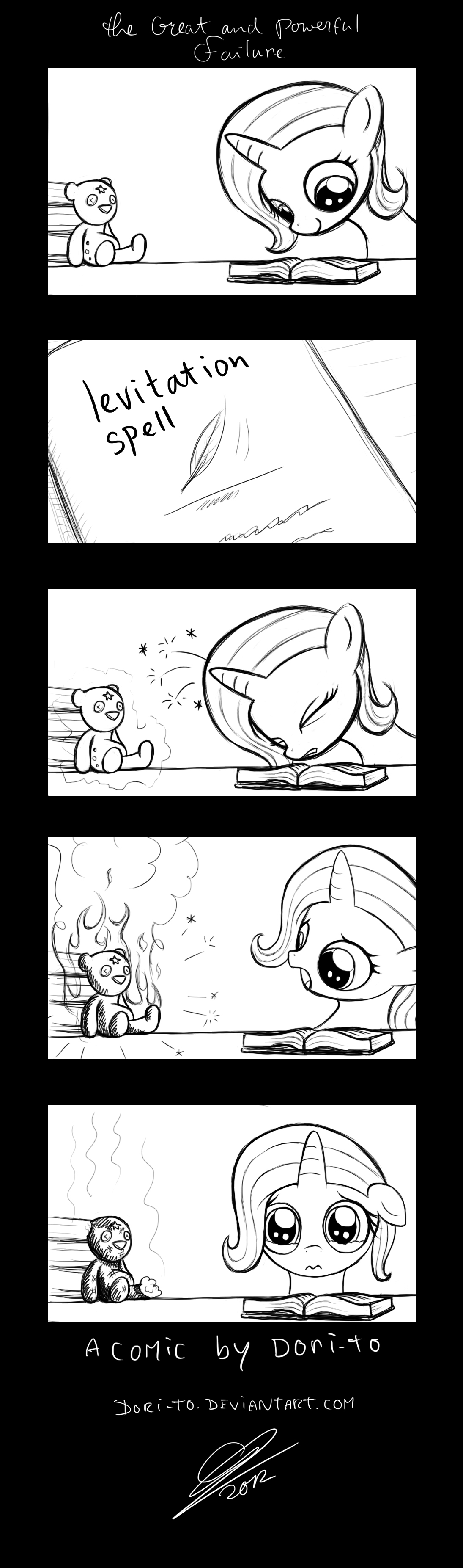 Random Comic #1 - The Great and Powerful Failure by Dori-to