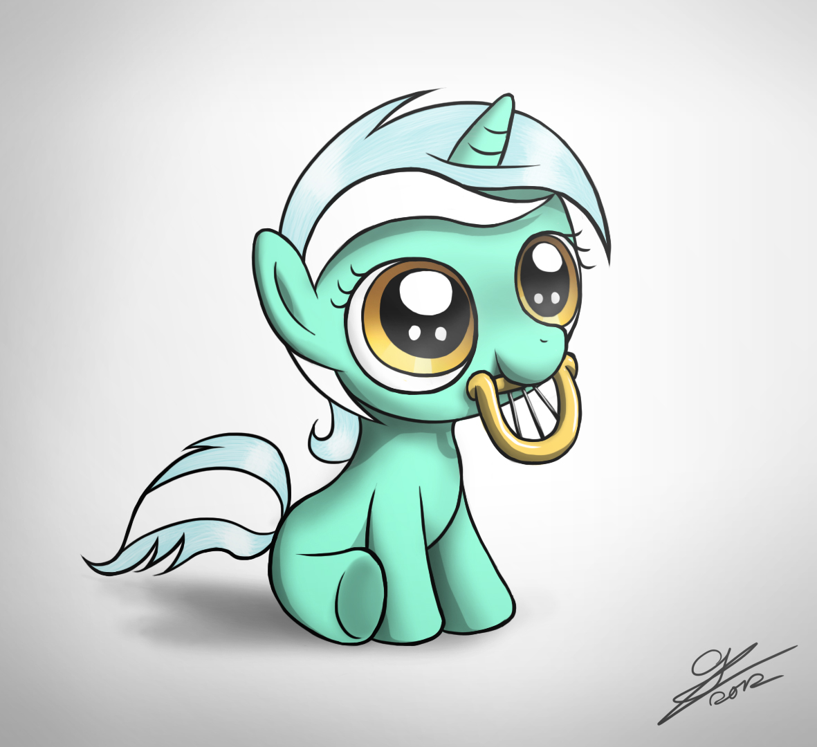 Lyra's magical diabetes inducing thread Filly_lyra_for_teithepony_by_dori_to-d4xbmx6