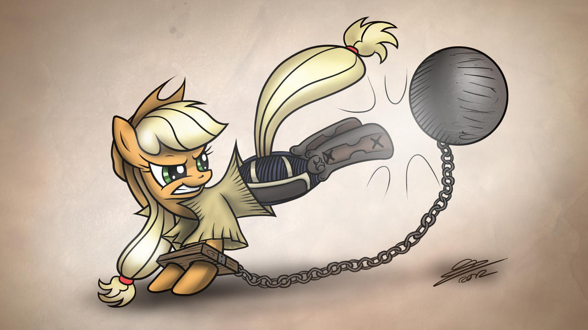 Applejack request for MegaPatron by Dori-to