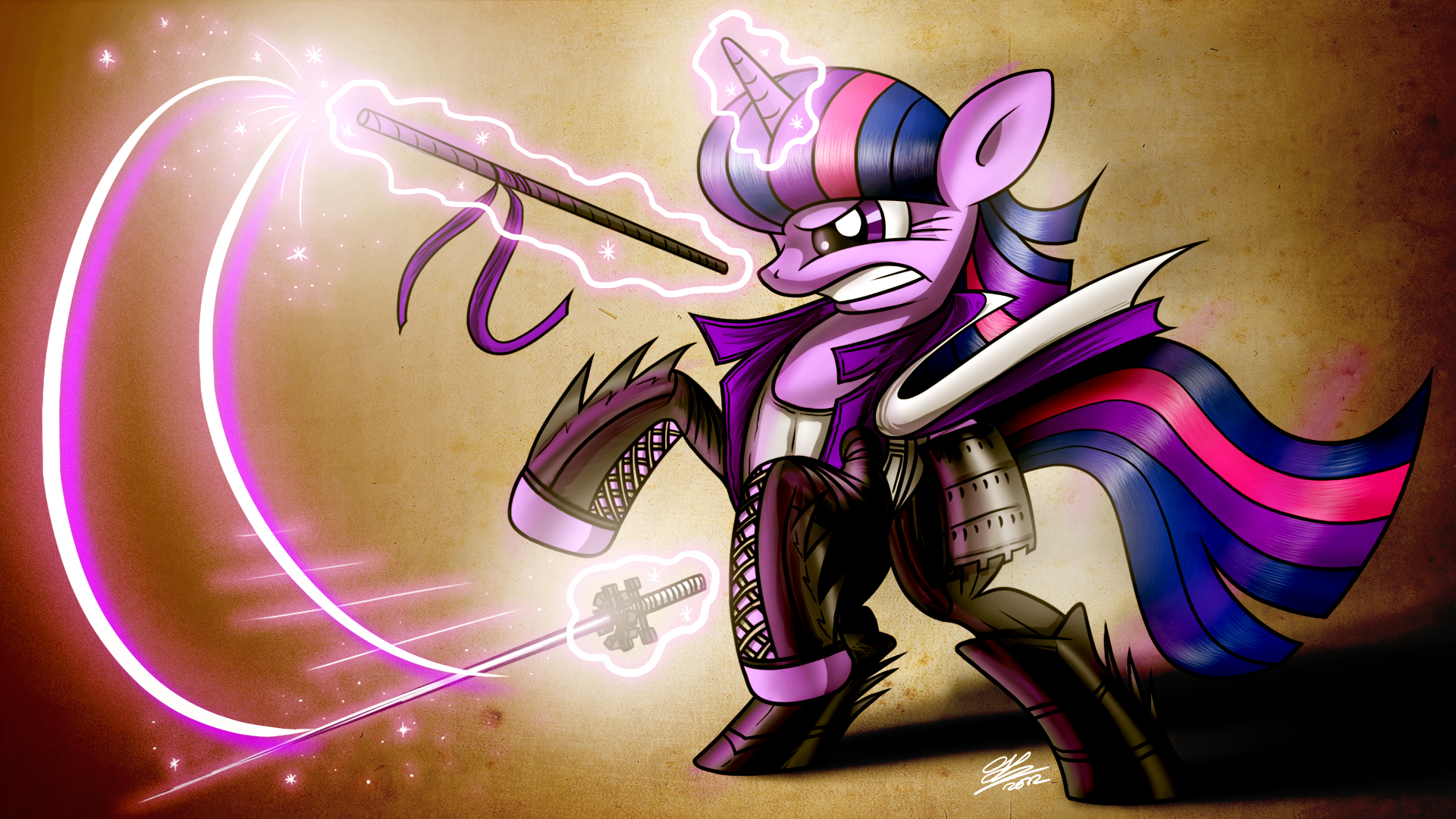 Twilight Sparkle request for Megapatron by Dori-to