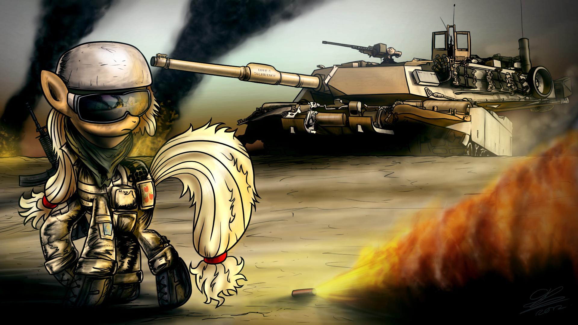 Appletank M1A1 by Dori-to