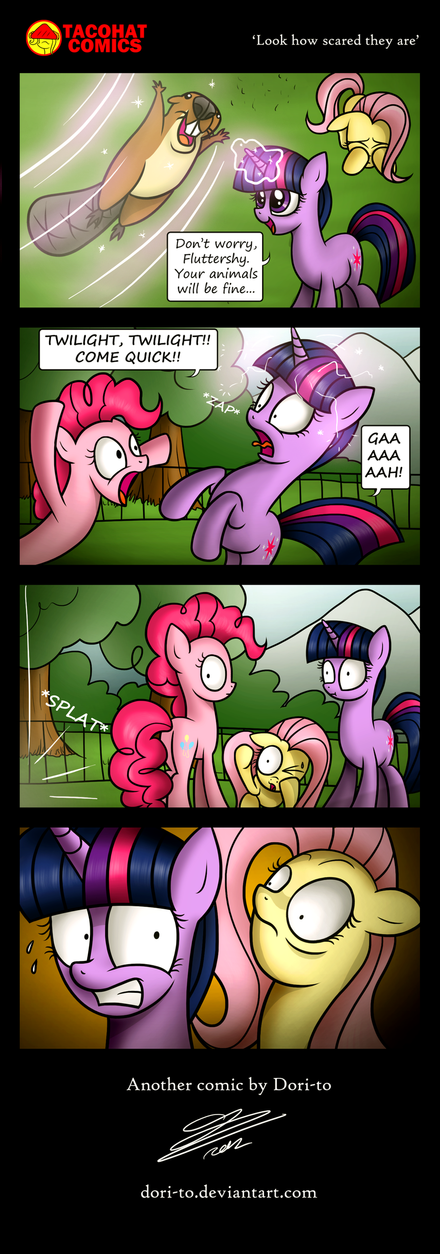 Look how scared they are by Dori-to