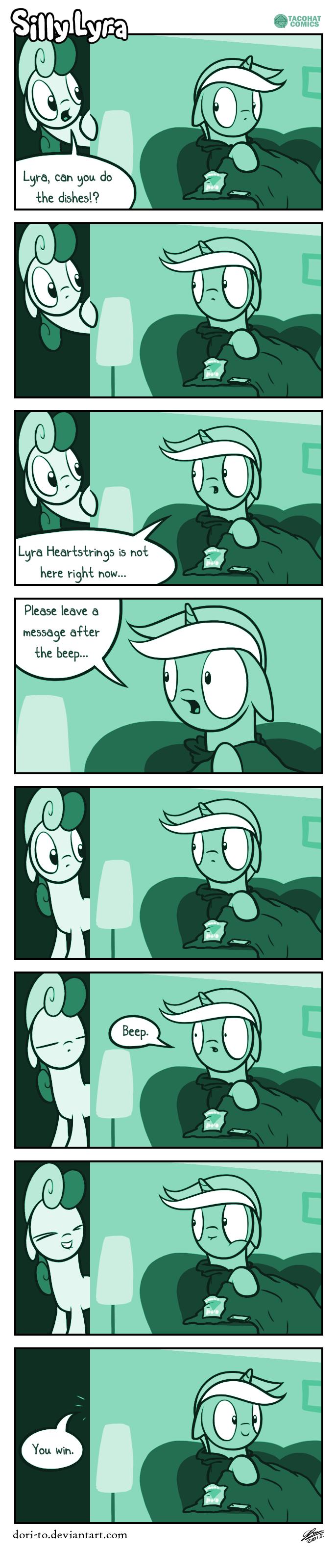 Silly Lyra - Communication Breakdown