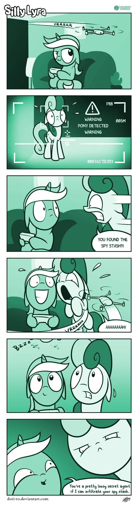 Silly Lyra - Air Strike by Dori-to