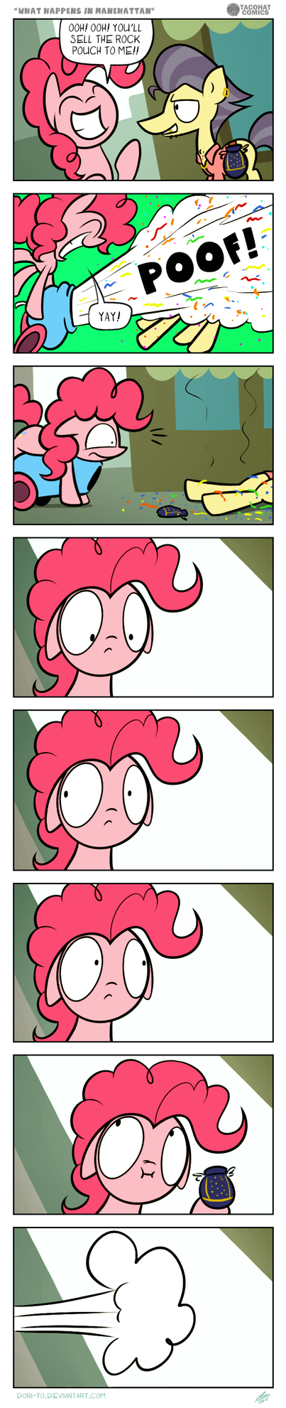 Episode Comic - What Happens In Manehattan by Dori-to