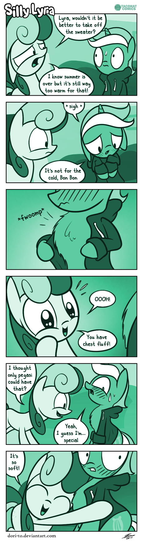 Silly Lyra - Fluffy Fall by Dori-to