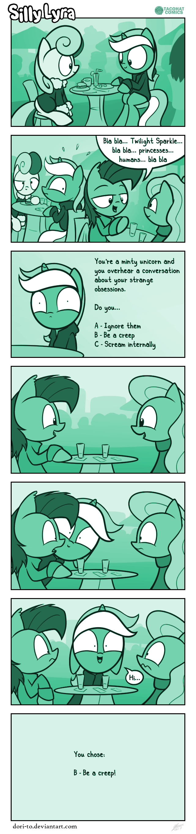 Silly Lyra - Cafe Conundrum by Dori-to