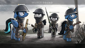 Commission - Squad up