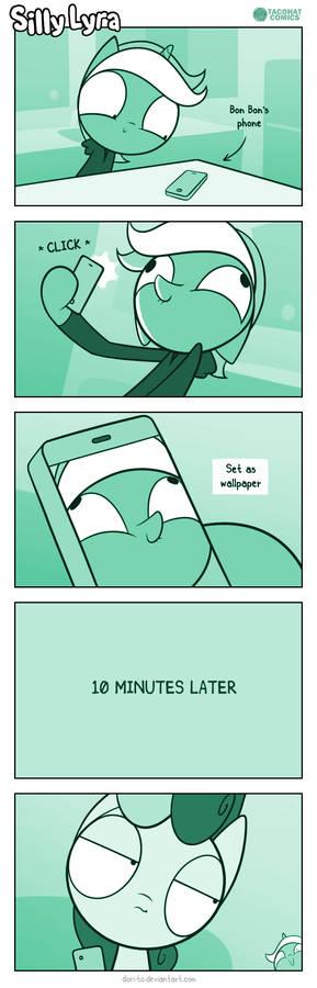Silly Lyra - Wallpaper
