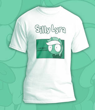 Silly Lyra 'Dissatisfied' T-Shirt by Dori-to