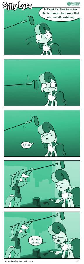 Silly Lyra - News Flash