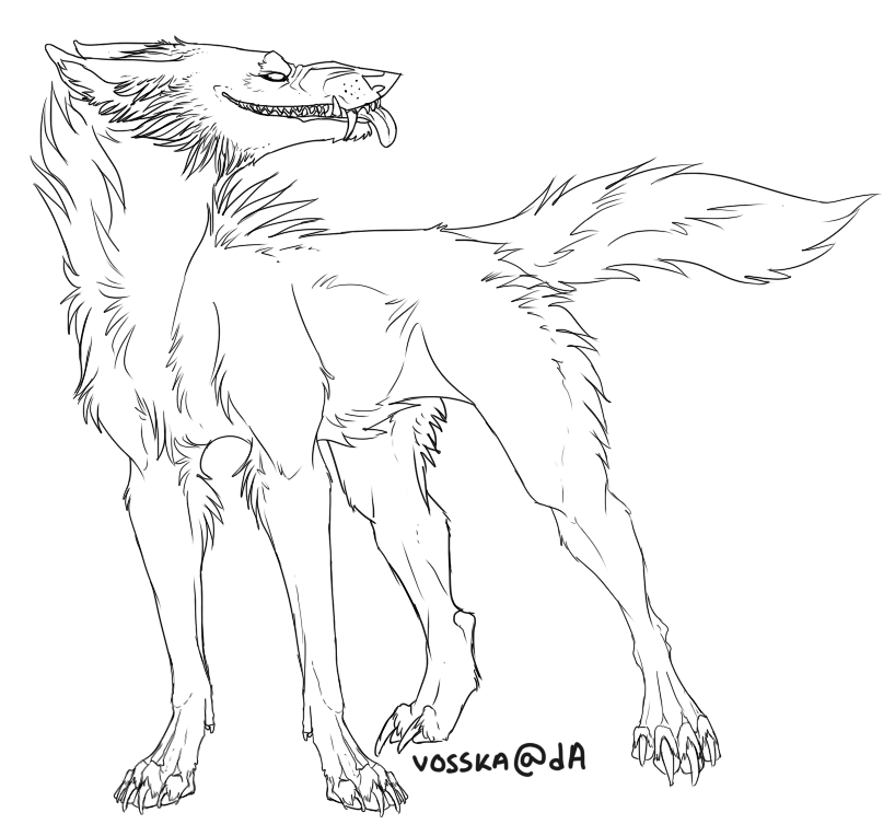 Free Lineart by Vosska