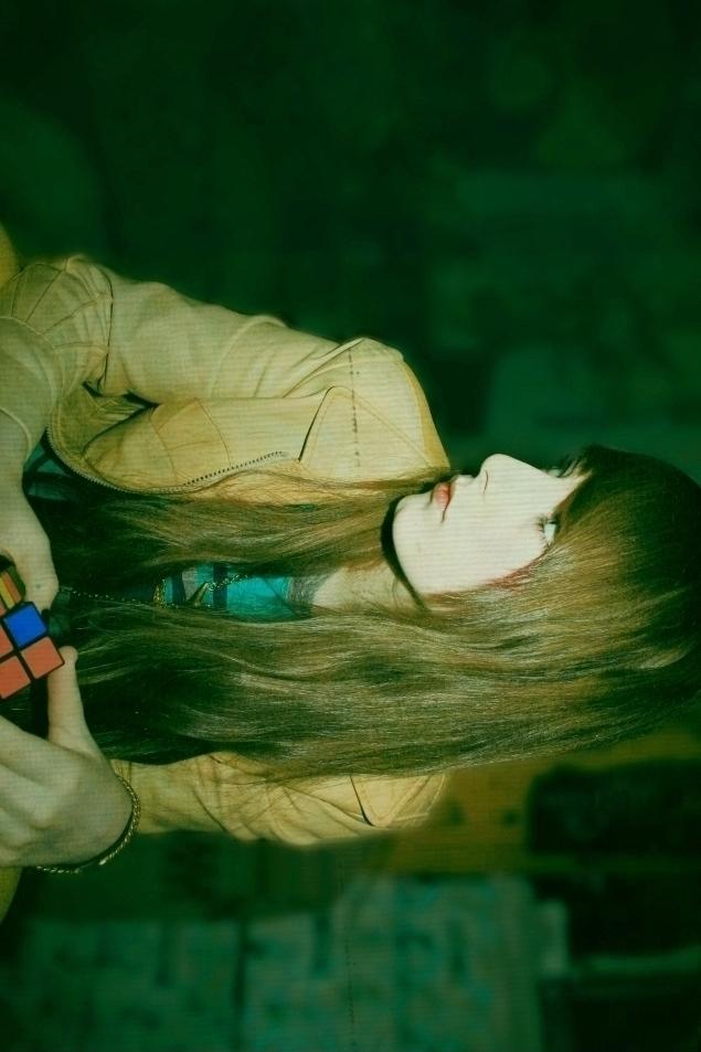 puzzled girl by AshleyMae