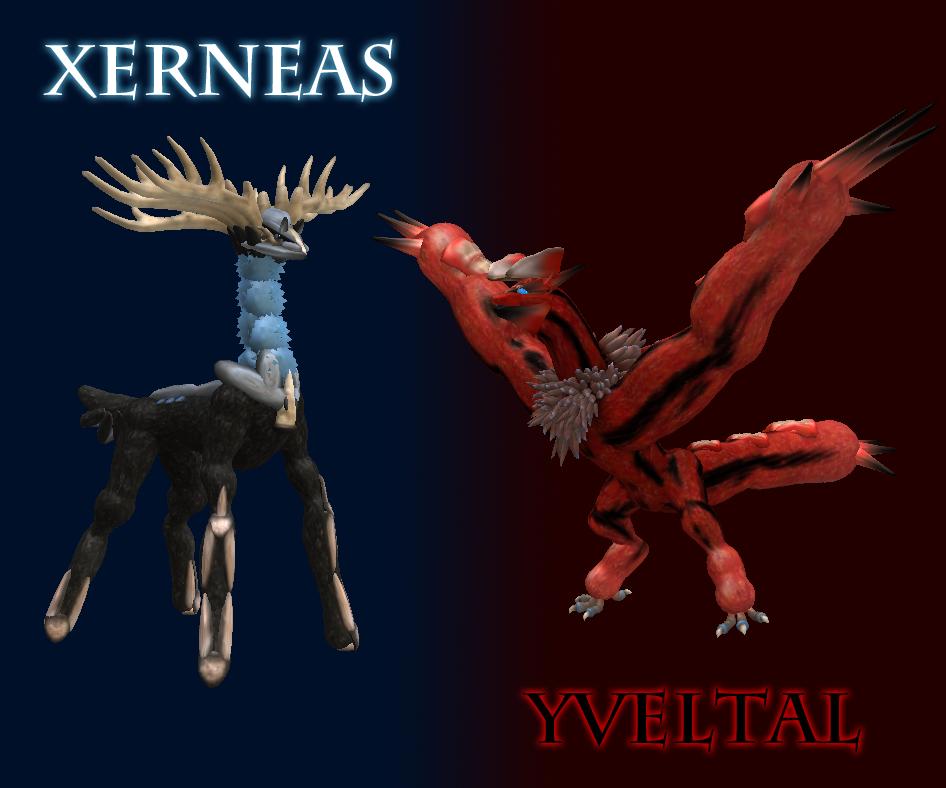 Xerneas and Yveltal by Silverseer1 on DeviantArt