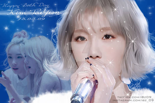Happy Birth Day  Taeyeon