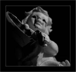 crying angel II by rossorelativo