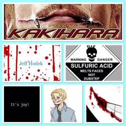 Jeff The Killer Collage by StasyTheKiller