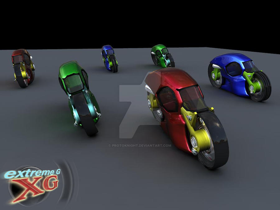 Extreme G Xg Bikes By Protoknight On Deviantart