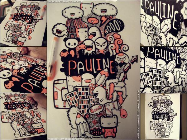 pauline doodle by iamsuperjamie