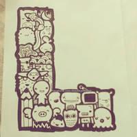 letter L by iamsuperjamie