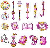 Doremi Items by Eternal-Rainbow