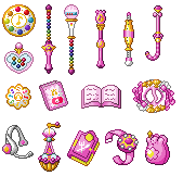 Doremi Items by Eternal-Rainbow