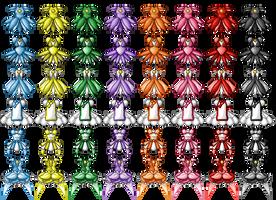 Doremi Dresses by Eternal-Rainbow