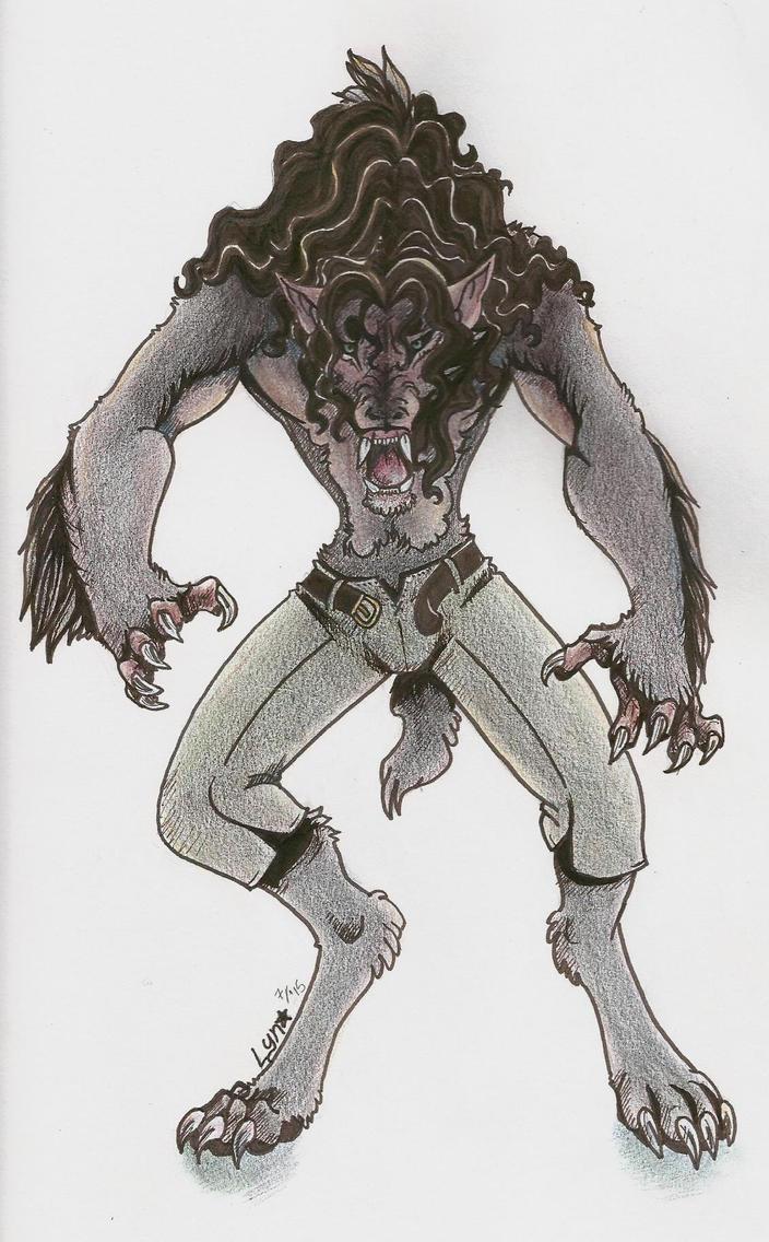 Werewolf by VampireFoxHL