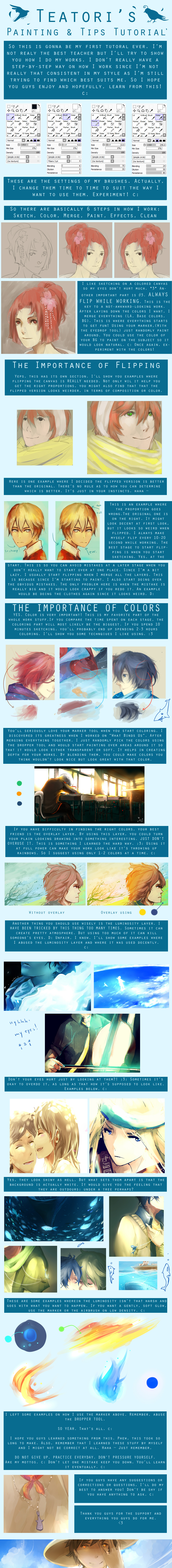 Painting and Tips Tutorial