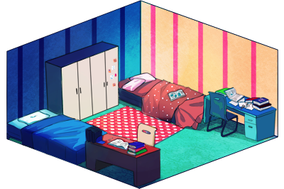DH: Bedroom Event by tanaw