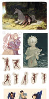 Art Dump! by tanaw