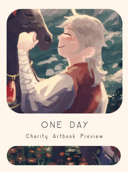 A Day Artbook Preview