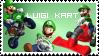 Luigi Kart - Stamp