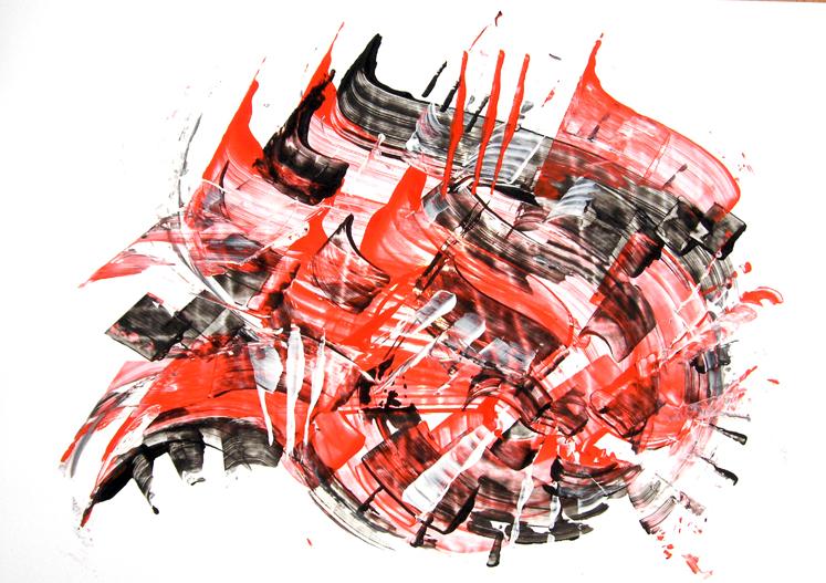 Warrior's poetry III by artofsohei