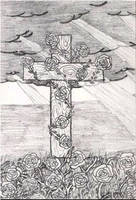 Cross of roses by android272