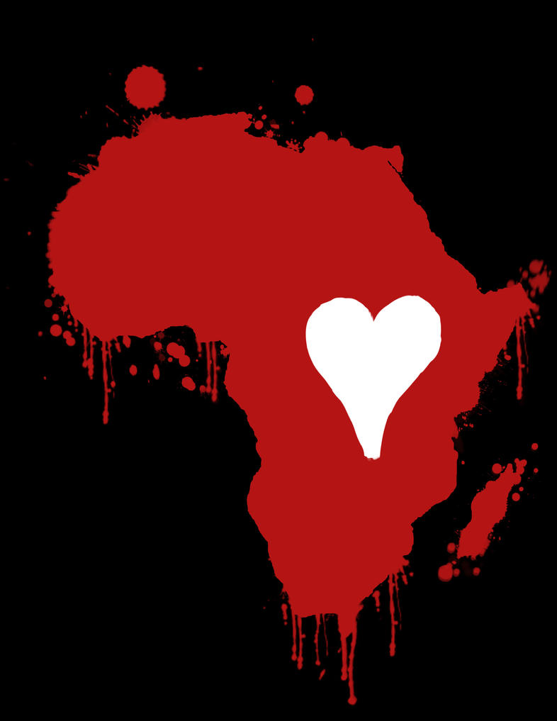 Heart In Africa By Android272 On Deviantart
