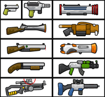 Teeworlds Guns by android272